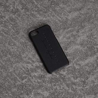 Burberry Embossed Logo Leather iPhone 8 Case