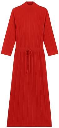 A.P.C. Vivianne Dress in Rouge