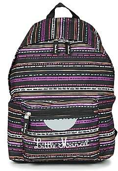 Little Marcel SATURNIN girls's Backpack in Black