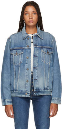 Citizens of Humanity Blue Ilana Relaxed Denim Jacket