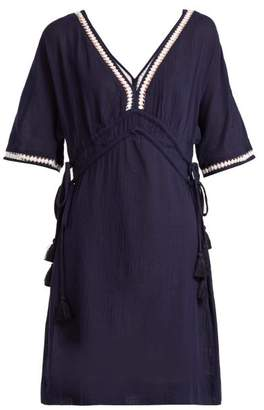 Heidi Klein Carlisle Bay Cotton Dress - Womens - Navy