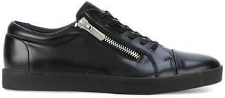 Calvin Klein Jeans zip detail low-top sneakers