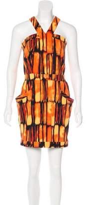 MICHAEL Michael Kors Abstract Print Mini Dress w/ Tags