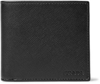 Prada Saffiano Leather Billfold Wallet $325 thestylecure.com
