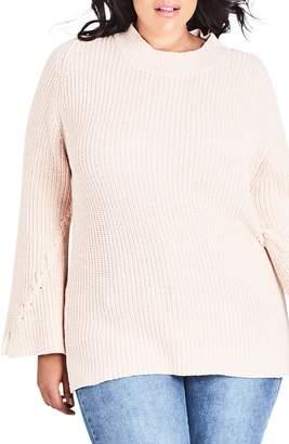 City Chic Enchanting Sweater