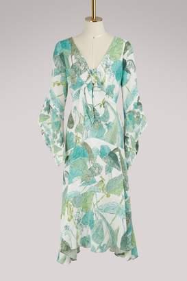 Peter Pilotto Satin tie dress
