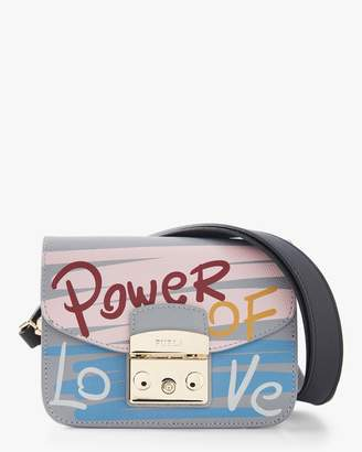 Furla Metropolis Message Mini Crossbody