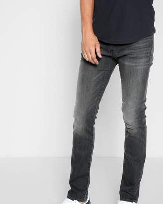 7 For All Mankind Airweft Denim The Paxtyn Skinny with Clean Pocket in Halide Grey