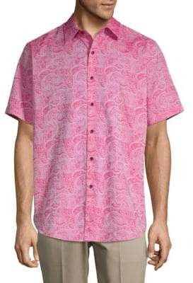 Robert Graham Bell Gardens Printed Classic-Fit Casual Button-Down Shirt
