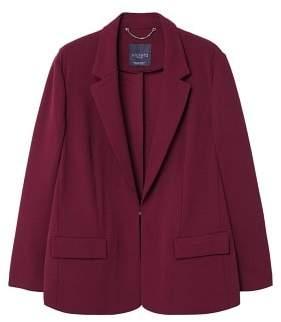 Violeta BY MANGO Appliqu??s flowy blazer