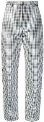 Joseph bowling check trousers