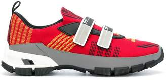 Prada touch-strap fastening sneakers