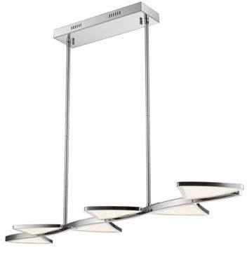 Filament Design Aeon 1-Light 43.75-Inch LED Island Light in Chrome