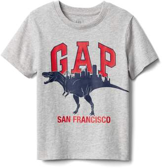 Gap Dino-city logo tee
