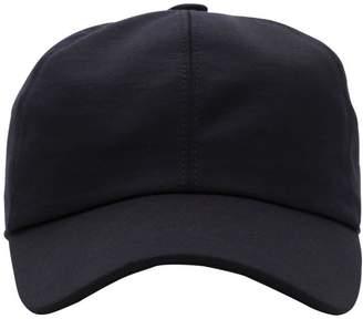 Ermenegildo Zegna Techmerino Patch Wool Baseball Hat