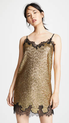 Robert Rodriguez Sequins Lace Dress