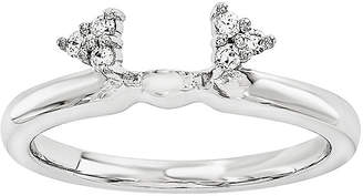 MODERN BRIDE Diamond-Accent 14K White Gold Ring Wrap