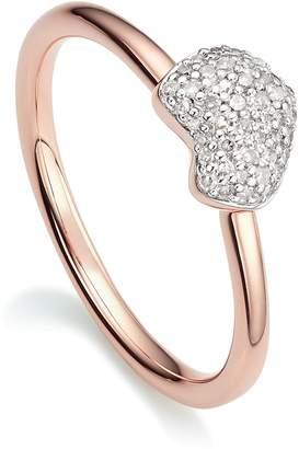 Monica Vinader Nura Mini Heart Ring