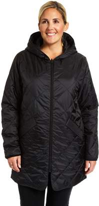 Champion Plus Size Reversible Quilted Jacket