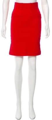 Ganni Knee-Length Pencil Skirt