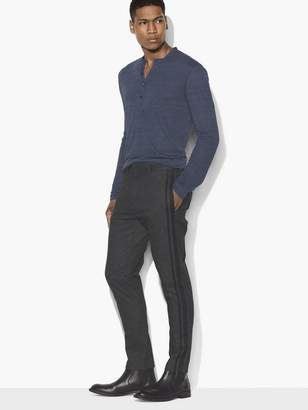 John Varvatos Tapered Side Stripe Pant