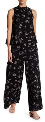 AFTER MARKET Nightshade Print Wide Leg Pants