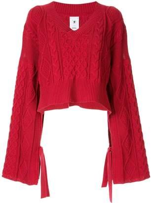 Puma Maison Yasuhiro oversized cropped sweater