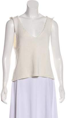 Anine Bing Sleeveless Knit Sweater