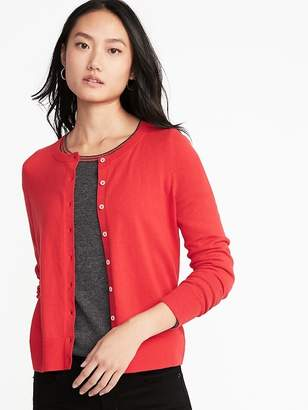 Old Navy Semi-Fitted Button-Front Cardi for Women