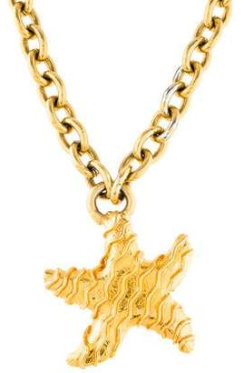 Celine Starfish Pendant Necklace