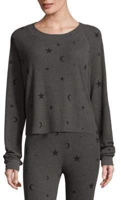 Wildfox Planetarium Cropped Pullover