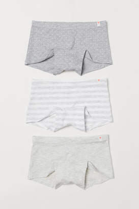 H&M 3-pack Boxer Briefs - Gray