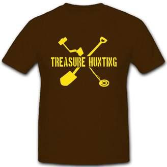 Hunter ALFASHIRT Treasure hunting hunt metal detector ground found