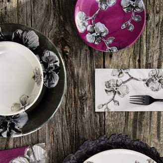MADHOUSE by Michael Aram 7 Orchid Melamine Luncheon Plate