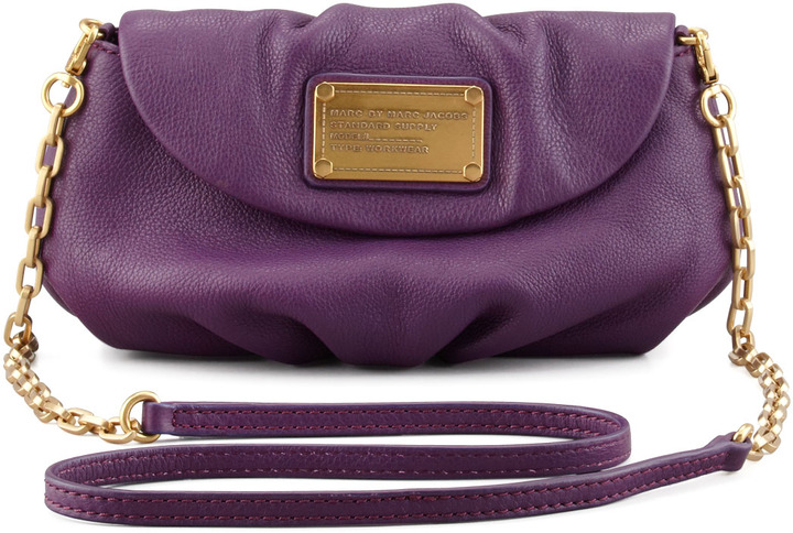 Marc by Marc Jacobs Classic Q Karlie Crossbody Bag, Purple