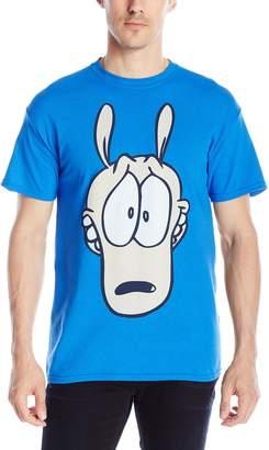 Nickelodeon Men's Rocko's Modern Life Big Face T-Shirt