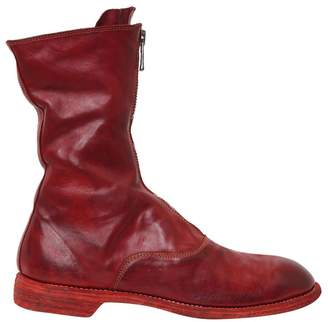 Guidi 310 Front Zip Leather Boots