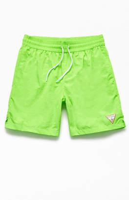 GUESS Neon Nylon Active Shorts