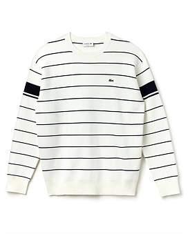 Lacoste Milano Stripe Sweater