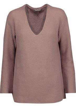 Joie Wei Ribbed Wool And Cashmere-Blend Sweater