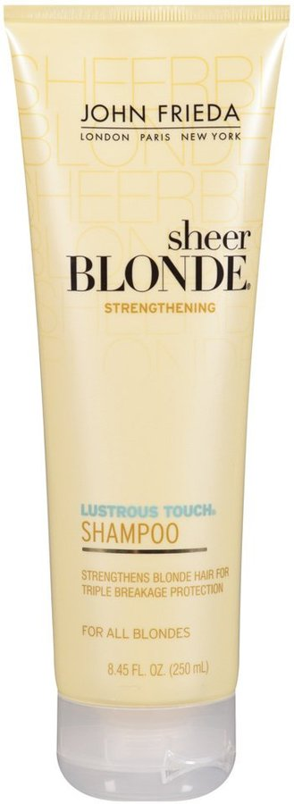 John Frieda Sheer Blonde Lustrous Touch Strengthening Shampoo - 8.45 oz