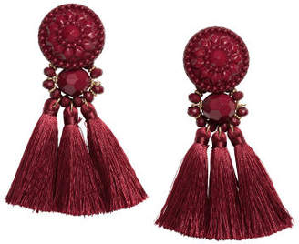 H&M Earrings with Tassels - Red