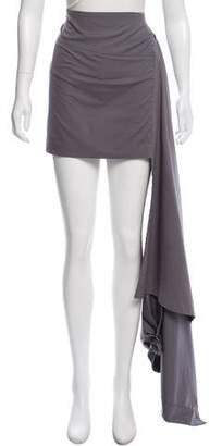 Brunello Cucinelli High-Low Mini Skirt