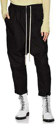 Rick Owens Women's Cotton Poplin Drop-Rise Pants