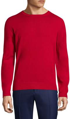 Isaia Men's Cashmere Crewneck Sweater