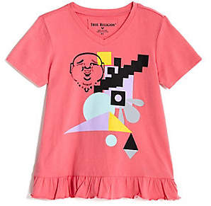 True Religion TODDLER/LITTLE KIDS GEOMETRIC TEE