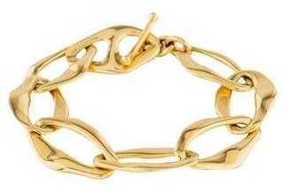 Tiffany & Co. 18K Aegean Toggle Bracelet