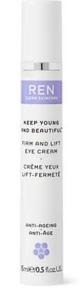 Ren Skincare Firm and Lift Eye Cream, 15ml