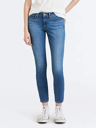 Levi's 711 Skinny Jeans With Back Zip