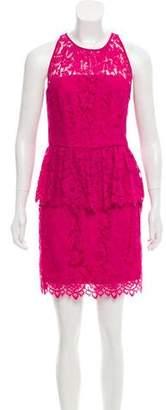 Milly Lace Peplum Dress